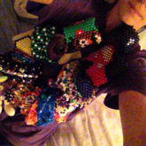 Me Wearing A Necklace Full Of Kandi