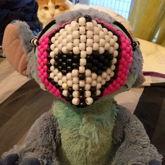 Sugar #skull Kandi Mask