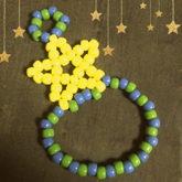 Kandi Star Finger Connected Bracelet