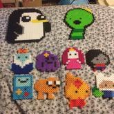 Adventure Time Perlers 1