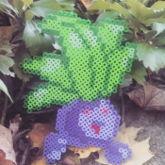 Oddish Pokemon Perler