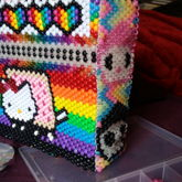 Nyan Hello Kitty Gloomy Bear Tokidoki Zim Mashup Backpack Back And Side