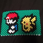 Ash And Pikachu (back)