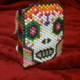 Daisy Glow Sugar Skull Backpack