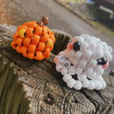 3D Pumpkin And Ghost