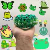 Green UFO Cuff