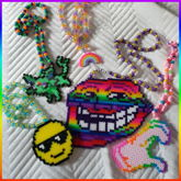 Perler Necklaces !