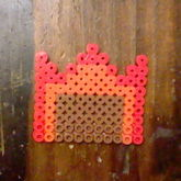 My First Perler. WoodenToaster's Cutie Mark