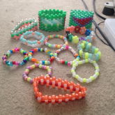 All My Candy Plus My New Candy Double And My New Candy Glow-in-the-dark Bracelet