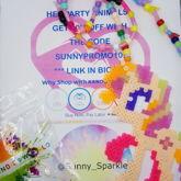 Sunny Sparkle Perler Necklace