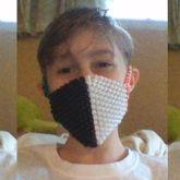 Ranboo Mask !! / My 1st Kandii Mask !!!!!1