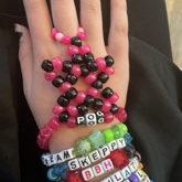 I Made One Of Thoze Starr Bracelet Thingz