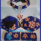 Cookie Monster Inspired Kandi Set