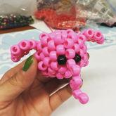 3D Pink Elephant