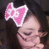 Hello Kitty Kandi Bow