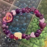 Purple Hello Kitty Kandi Single!