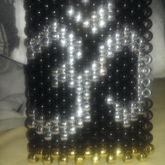 Large Metallic Om Cuff