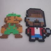 Luigi And Kanye West Perlers