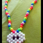 Rainbow Cloud Puke Necklace