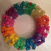 Rainbow 3D Cuff