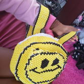 90s Kandi Smiley Face Backpack