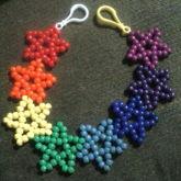 Rainbow Star Belt Chain