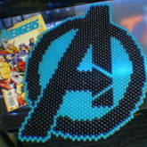 Avengers Logo [Peyote Stitch]