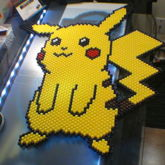 Large Pikachu Panel [peyote Stitch]