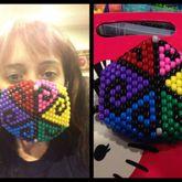 Rainbow Swirl Mask