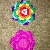 3D Rose (Rainbow) (Pink)