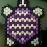 Purple Turtle Charm