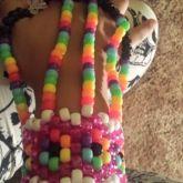 Flower Rainbow Cuff