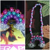 3D Kandi Rainbow Necklace