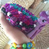 Pink Purple Turqoise Cuff Trade