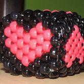 Kandi Heart Cube