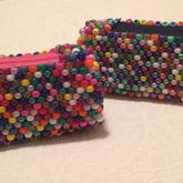 Random Bead Pencil Cases