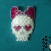 Skull Hearts (Perler)