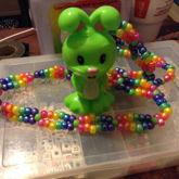 Neon Easter Bunny