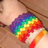 Rainbow Cuff!