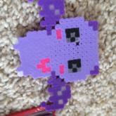 Kawaii Pastel Purple Bat
