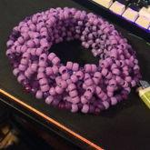 Purple Kandi Cuff I Finished Recently