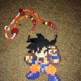 Goku Perler Necklace