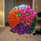 3D Kandi Star Ball Necklace