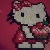 Hello Kitty With Pastry