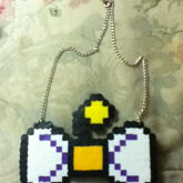 Moogle Bow Necklace