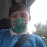Kandi Ears And Mask!