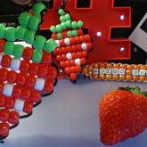 Strawberry [Ladder Stitch]