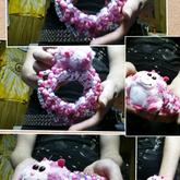 Kandi Fuzzy Pink Monster Ufo