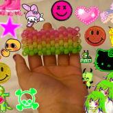 Rainbow Multistitch Cuff
