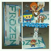 Frozen Perler Art